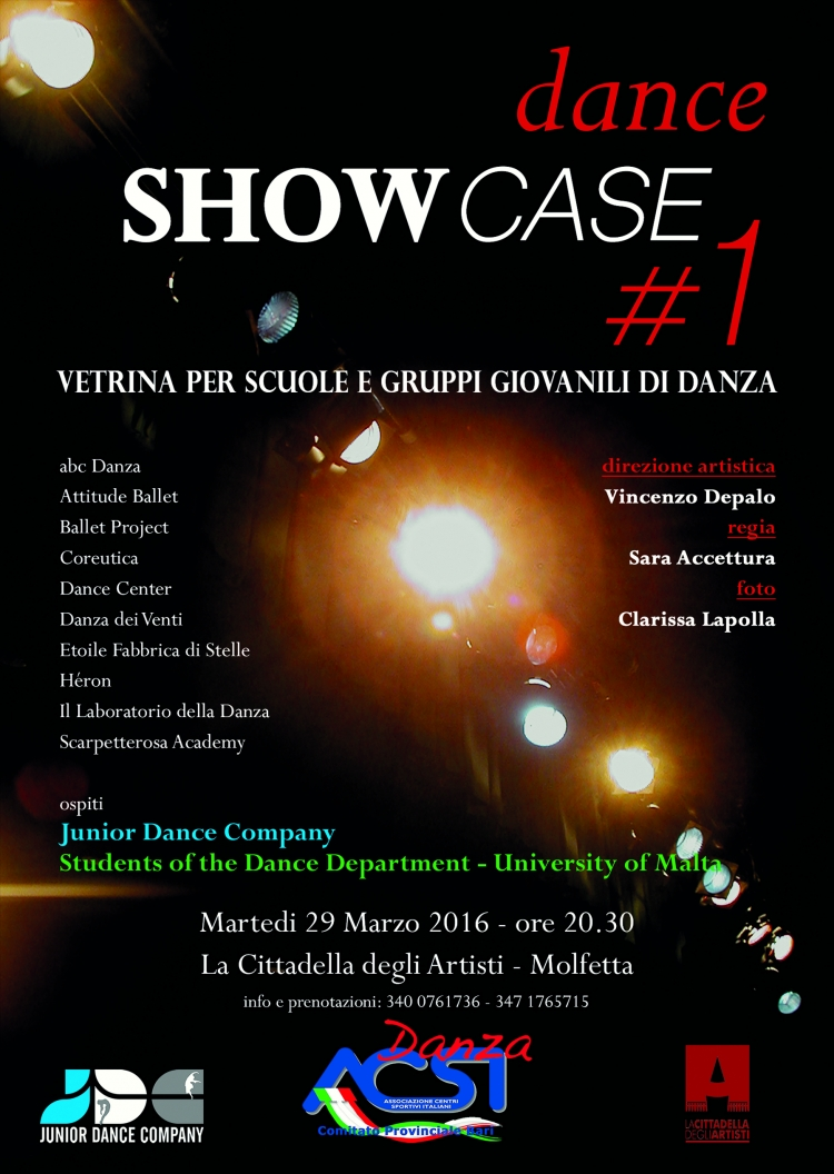 DANCE SHOWCASE #1